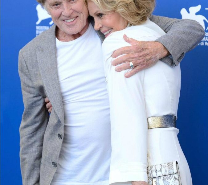 Robert Redford and Jane Fonda attending the Our Souls at Night photocall during the 74th Venice International Film Festival (Mostra di Venezia) at the Lido, Venice, Italy on September 01, 2017. Photo by Aurore Marechal/ABACAPRESS.COMPhoto Abaca Press/LaPresseOnly Italy